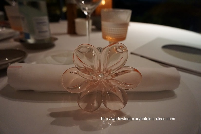 Cheval Blanc St. Barts - Dinner Izumi Ogawa Vision Travel