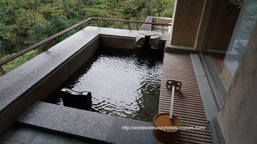 Bettei Senjuan Tokyo Luxury Travel Japan Izumi Ogawa Trip Vision Gunma relais chateaux ryokan onsen agent vacation advisor