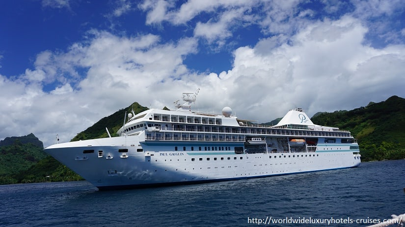 Paul Gauguin Cruises Tahiti & Society Islands Luxury Travel Virtuoso Izumi Ogawa Trip agent vacation advisor Vision French Polynesia Cruise ship boat