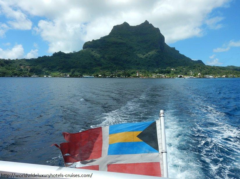 Bora Bora Paul Gauguin Cruises Tahiti & Society Islands Luxury Travel Virtuoso Izumi Ogawa Trip agent vacation advisor Vision French Polynesia Cruise ship boat