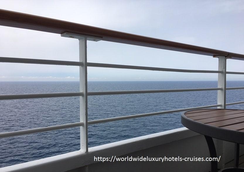 クリスタルセレニティ地中海クルーズモナコへ向けて終日航海 クリスタルクルーズ クリスタルセレニティ 地中海クルーズ Nobuレストラン モナコ