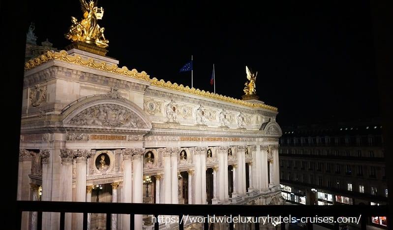 インターコンチネンタルパリルグランのジュニアスィート インターコンチネンタルパリ ルグラン インターコンチネンタルパリルグラン パリ フランス カフェドラぺ クラブラウンジ オペラ座ビュー オペラビュー