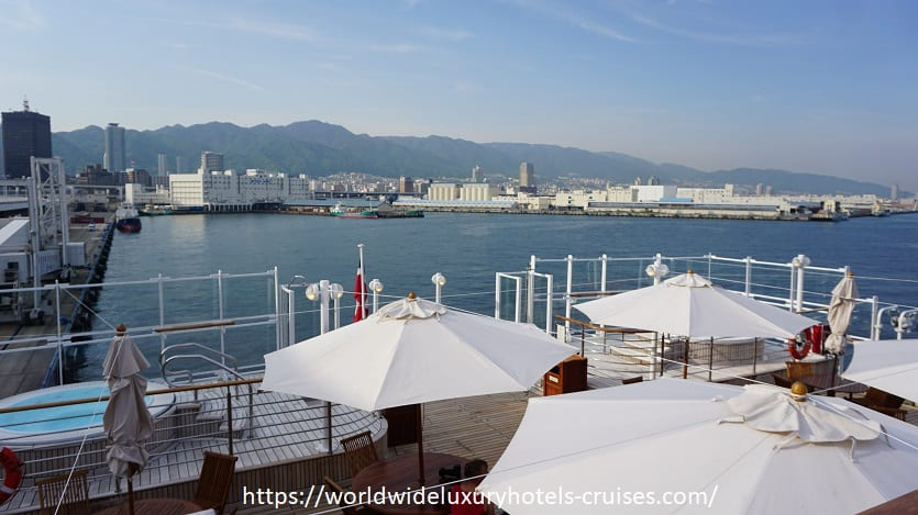 Silver Explorer, Kobe, Silversea, Explorer, expedition, Ship, Tour, deck, plan, host, cruises, cruise, virtuoso, voyages, Asia, Sea, Izumi, Ogawa, Vision, travel, luxury, vacation, Japan, Okayama, Takamatsu, Miyajima, Hiroshima, Hagi, Sakaiminato, Kanazawa, Sokcho, Korea, South, Busan, Pusan, jacuzzi, restaurant, lounge, concierge